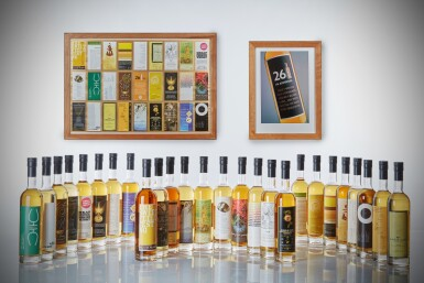 View 1. Thumbnail of Lot 186. The SMWS 26 Bottle Collection.