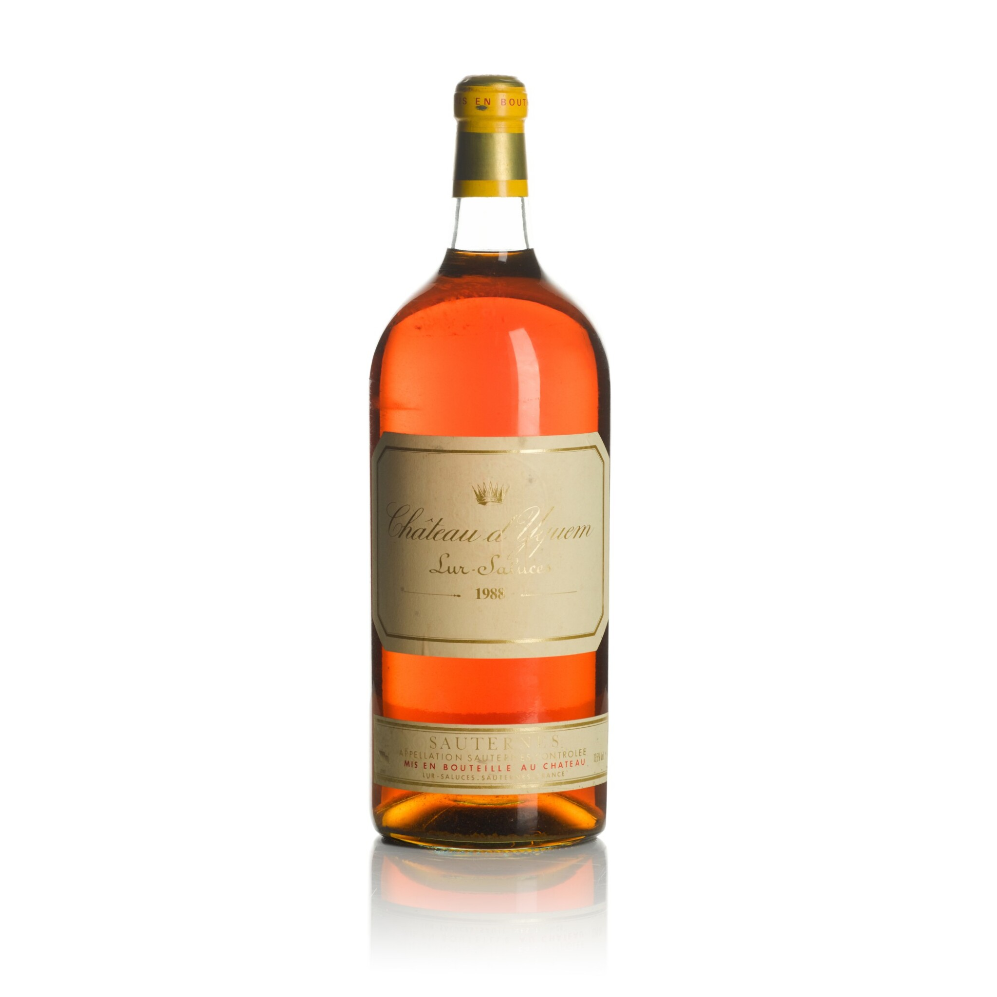 View full screen - View 1 of Lot 55. Château d'Yquem 1988  (1 JM50).