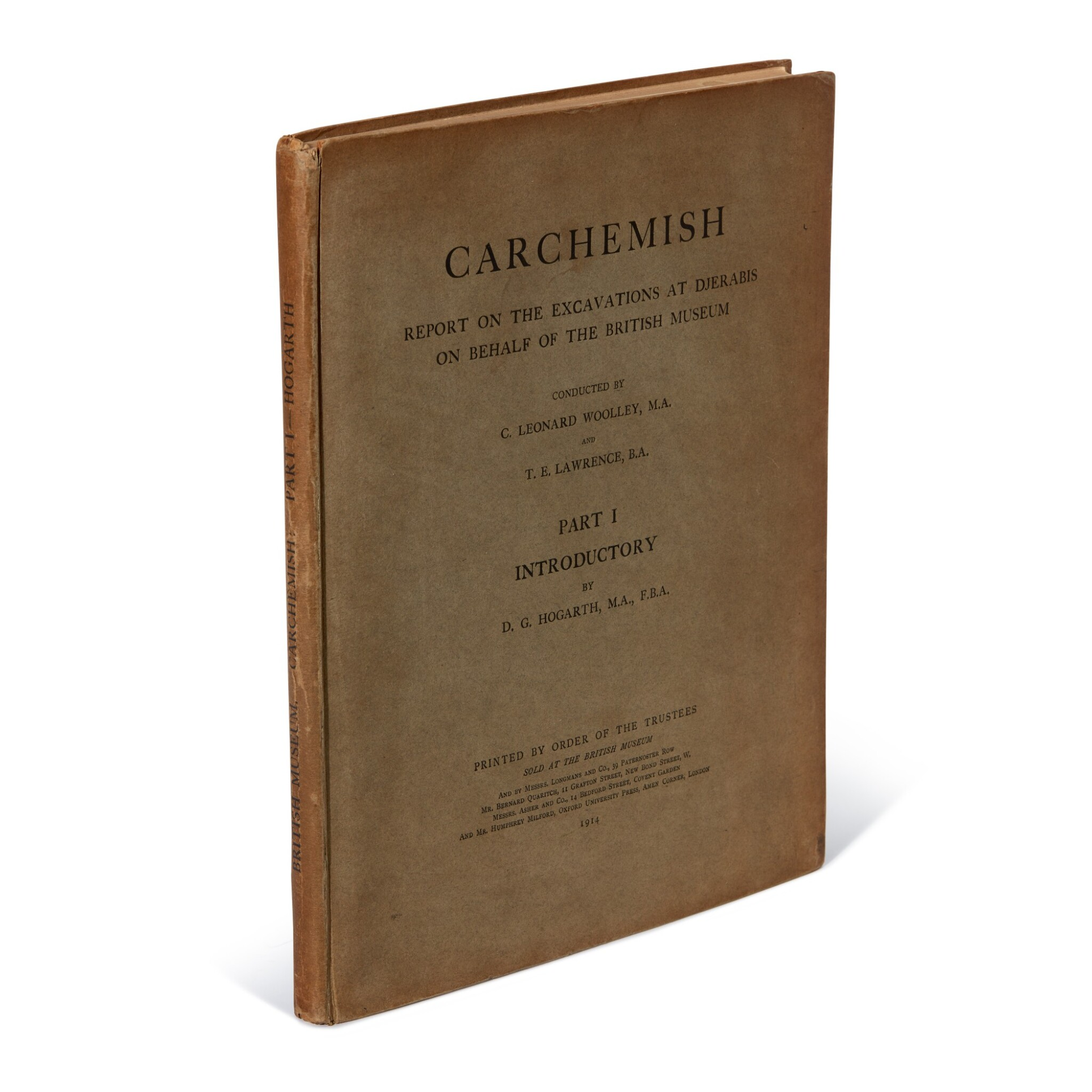 View full screen - View 1 of Lot 98. LAWRENCE, T.E., contrib.| Carcamesh, parts 1-3, 1914-1952.
