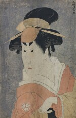 TOSHUSAI SHARAKU (ACTIVE 1794–1795), EDO PERIOD, LATE 18TH CENTURY  | OSAGAWA TSUNEYO II AS IPPEI'S SISTER OSAN