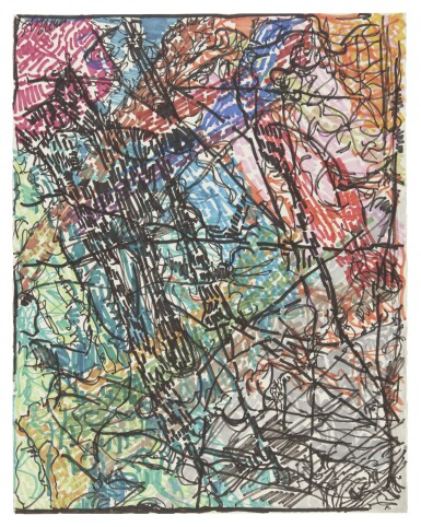 View 1. Thumbnail of Lot 15. JEAN-PAUL RIOPELLE | UNTITLED PM 35.