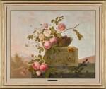 EMMANUEL FRIES | ROSES ON A CLASSICAL LEDGE