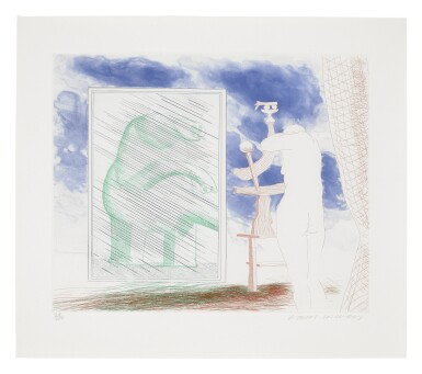 DAVID HOCKNEY | A PICTURE OF OURSELVES; AND WHAT IS THIS PICASSO? (SCOTTISH ARTS COUNCIL 210 & 218; MUSEUM OF CONTEMPORARY ART, TOKYO 189 & 197)