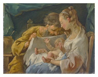 View 1. Thumbnail of Lot 611. The Holy Family.