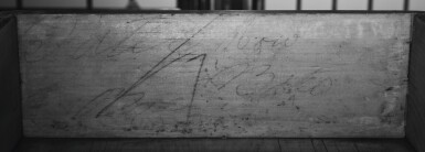 View 7. Thumbnail of Lot 65. Fine and Rare Chippendale Carved Cherrywood Chest-on-Chest, Signed by Bates How (b. 1776), Northwestern Connecticut, circa 1780.