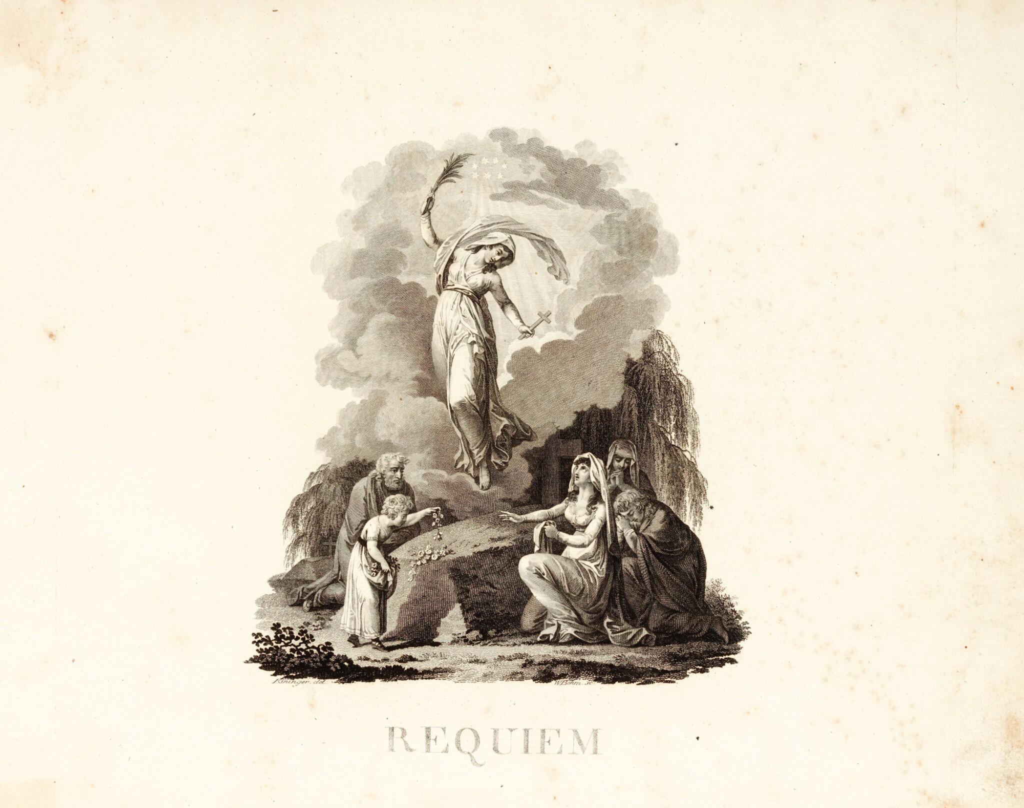 View full screen - View 1 of Lot 61. W.A. Mozart, Missa Pro Defunctis Requiem...[first edition, full score], Leipzig: Breitkopf & Härtel, [1800].
