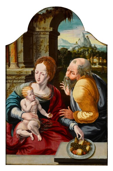 View 1. Thumbnail of Lot 113. The Holy Family.