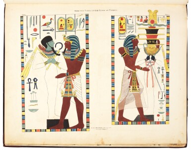Plates illustrative of the researches and operations of G. Belzoni in Egypt and Nubia, 1822
