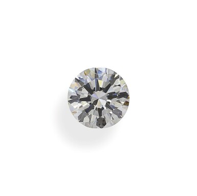 A 2.05 Carat Round Diamond, H Color, VVS1 Clarity