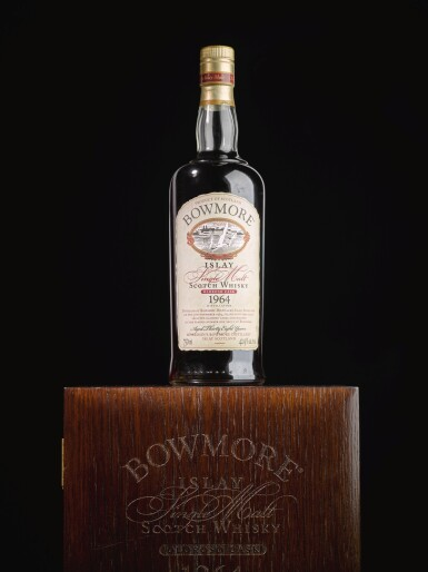 View 3. Thumbnail of Lot 315. BOWMORE 38 YEAR OLD OLOROSO CASK 42.9 ABV 1964   .