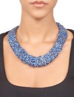Tony Duquette | Sapphire and Diamond Necklace