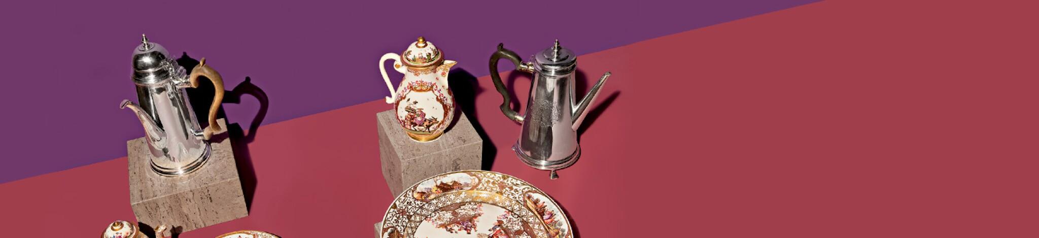 Style: Silver, Ceramics, Furniture