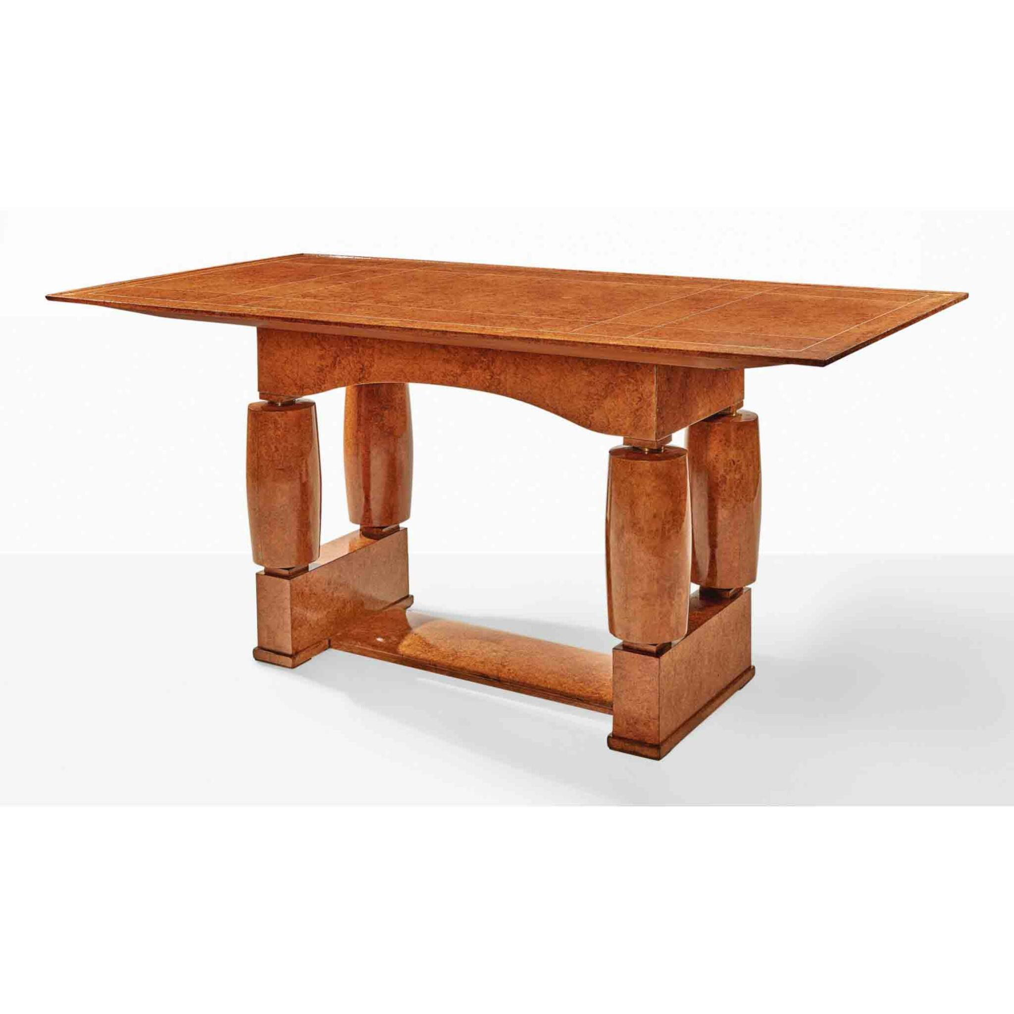 """View full screen - View 1 of Lot 66. A Unique """"Lorcia"""" Table, Model No. NR1510/AR1029."""