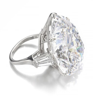 View 2. Thumbnail of Lot 174.   Harry Winston | Important diamond ring | 海瑞溫斯頓 | 鑽石戒指.