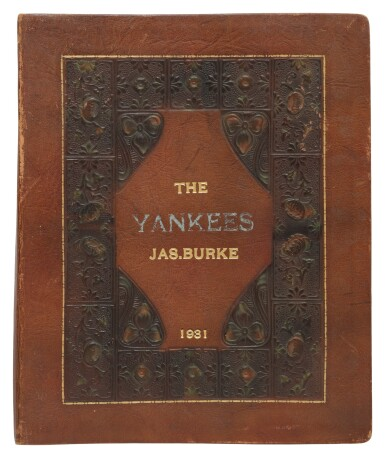 View 2. Thumbnail of Lot 145. The New York Yankees | Photo album of the 1931 New York Yankees, signed by 19 members of the team, including 10 future Hall of Famers, made for Yankees coach Jimmy Burke.