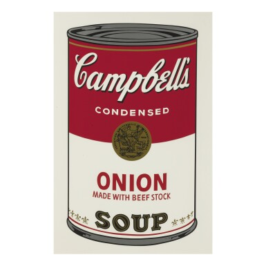 View 8. Thumbnail of Lot 19. ANDY WARHOL | CAMPBELL'S SOUP I (F. & S. II.44-53).