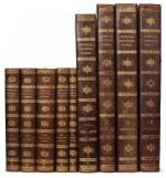 Blouet and Bory de Saint-Vincent. Expédition scientifique de Morée. 1831-40, complete work in 9 volumes, uniform calf