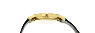 View 4. Thumbnail of Lot 233. Reference 3439  A yellow gold automatic wristwatch, Made in 1961.