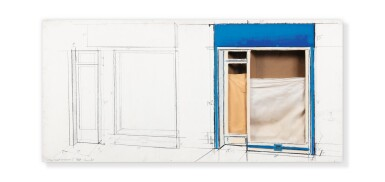 View 1. Thumbnail of Lot 132. Store front (Project).