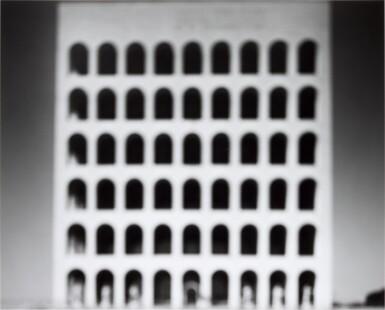 View 1. Thumbnail of Lot 116. HIROSHI SUGIMOTO    'E. U. R. PALAZZO DELLA CIVILTÀ ITALIANA', (FROM THE SERIES ARCHITECTURE), 1998.