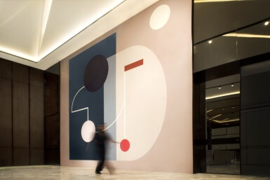 View 7. Thumbnail of Lot 32. A bespoke installation, mural or sculpture in a public or private context.