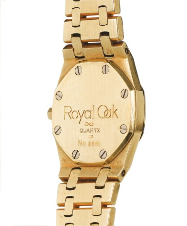 AUDEMARS PIGUET | ROYAL OAK,  YELLOW GOLD BRACELET WATCH [ROYAL OAK, MONTRE BRACELET EN OR JAUNE]