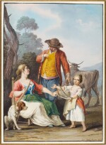 A peasant family