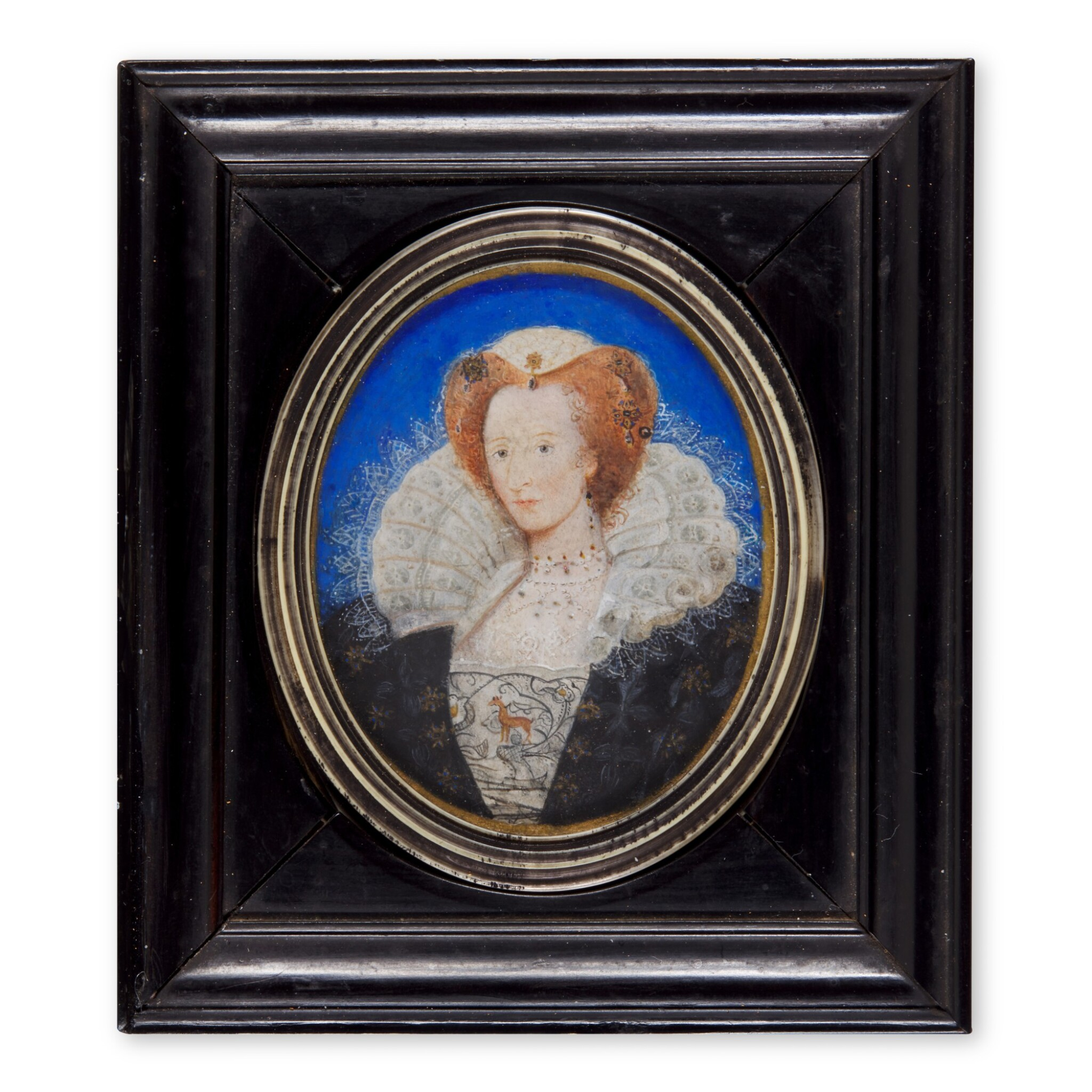 View full screen - View 1 of Lot 506. Portrait of a lady, circa 1595.