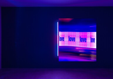 View 2. Thumbnail of Lot 1. CHRIS LEVINE | LIGHT IS LOVE, 2018.