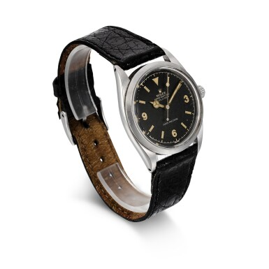 View 3. Thumbnail of Lot 456. ROLEX | EXPLORER, REF 5504  STAINLESS STEEL WRISTWATCH  CIRCA 1960.