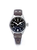 IWC | BIG PILOT REF 5002,  A STAINLESS STEEL AUTOMATIC WRISTWATCH WITH DATE AND 7-DAY POWER RESERVE INDICATION CIRCA 2002