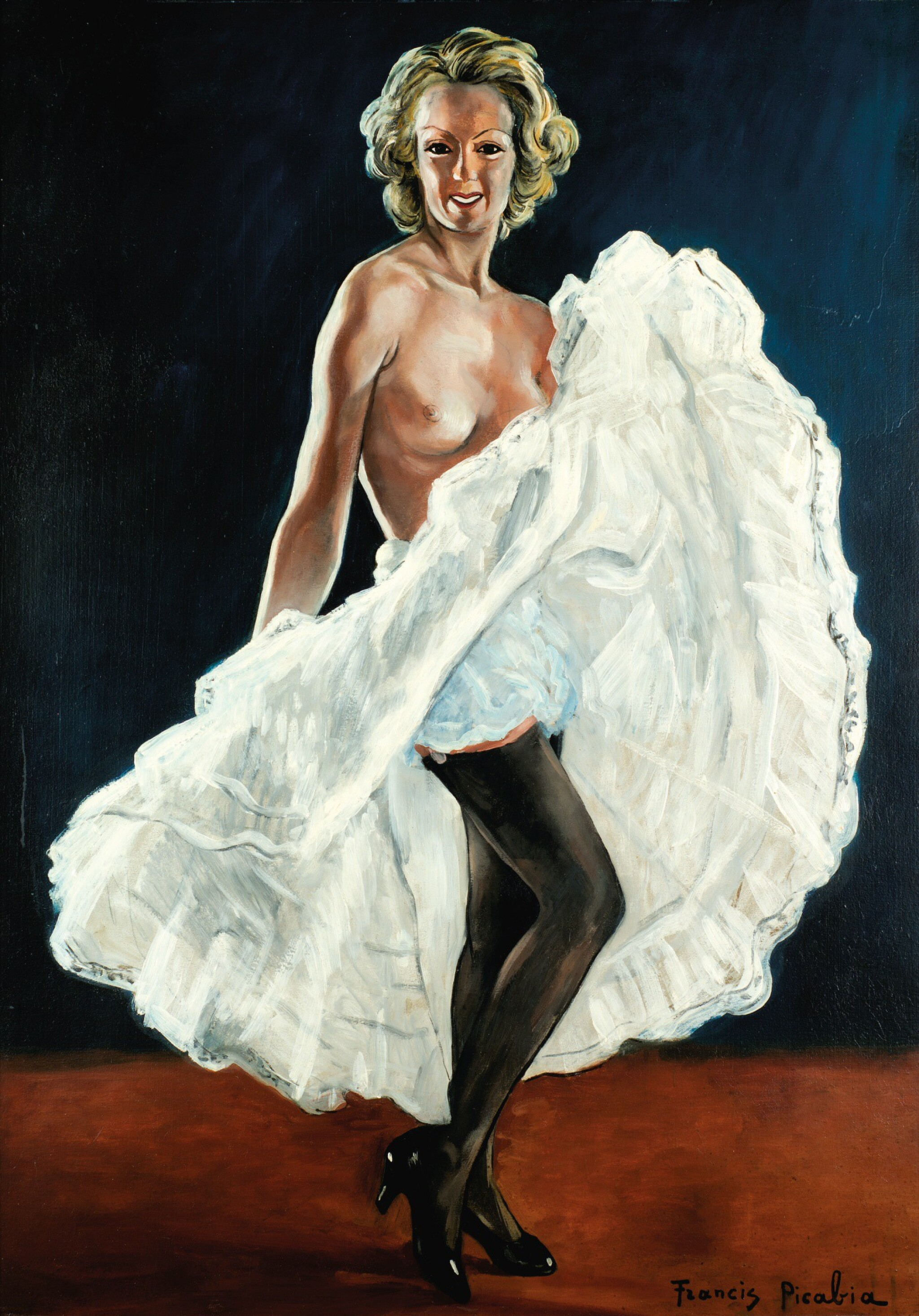 View full screen - View 1 of Lot 35. FRANCIS PICABIA | LA DANSEUSE DE FRENCH CANCAN.