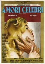 Amours Celebres / Amori Celebri / Famous Love Affairs (1961) poster, Italian