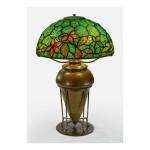 "TIFFANY STUDIOS | ""WOODBINE"" TABLE LAMP"