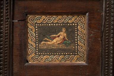 View 2. Thumbnail of Lot 117. Italian, early 19th century | Mosaic with Venus on a Dolphin.