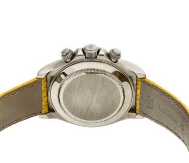 View 2. Thumbnail of Lot 209. Reference 116519 'Daytona Beach'  A white gold automatic chronograph wristwatch, Circa 2000.