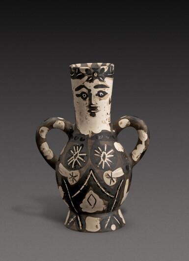 View 1. Thumbnail of Lot 11. Vase deux anses hautes (A. R. 141).