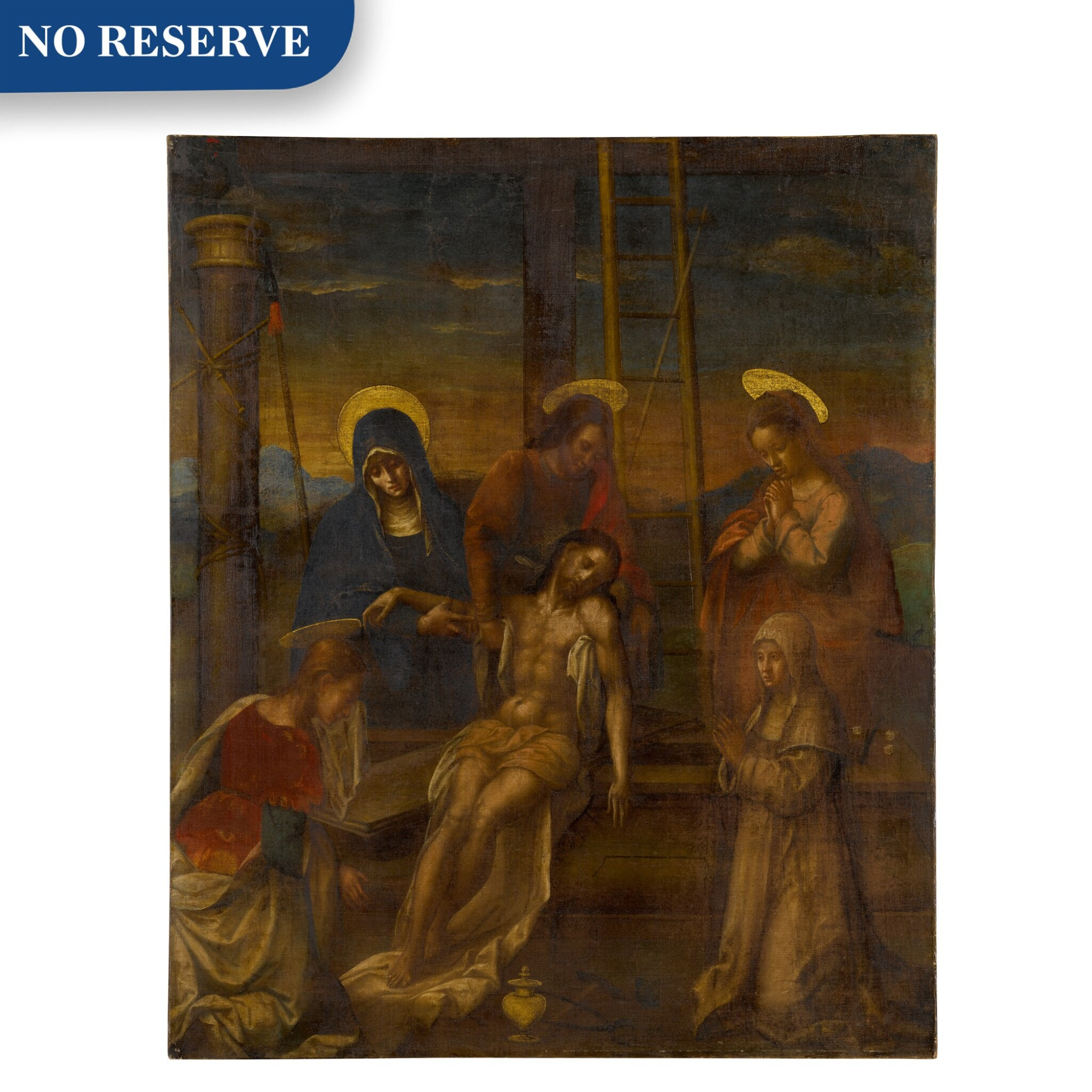 View full screen - View 1 of Lot 512. Deposition of Christ.