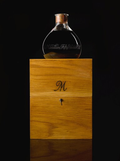 View 4. Thumbnail of Lot 174. THE MACALLAN MILLENNIUM DECANTER 50 YEAR OLD 43.0 ABV 1949 .