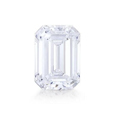 View 1. Thumbnail of Lot 8002. Unmounted Diamond   10.88克拉 方形 D色 完美無瑕 鑽石.