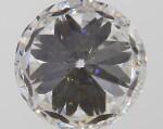 A 1.00 Carat Round Diamond, F Color, VS1 Clarity