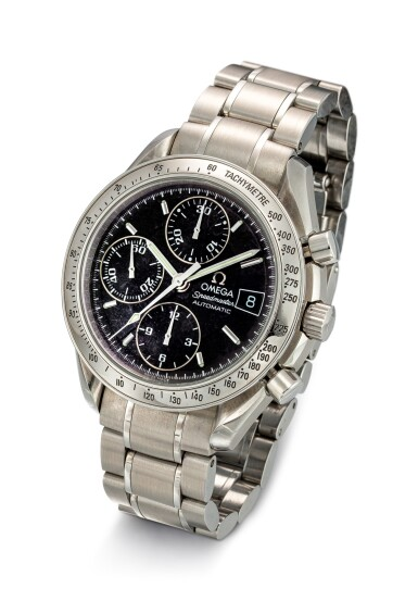 View 2. Thumbnail of Lot 608. OMEGA   SPEEDMASTER, REFERENCE 3513.50,  A STAINLESS STEEL CHRONOGRAPH WRISTWATCH WITH DATE AND BRACELET, CIRCA 2008.