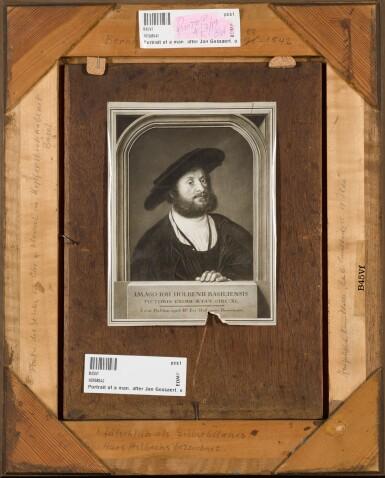 View 3. Thumbnail of Lot 110. FOLLOWER OF JAN GOSSAERT | Portrait of a gentleman.