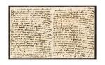 """MARIE-THÉRÈSE, impératrice d'Autriche. L.A.S. (""""M.T."""") à une amie. [Vienne], """"Ce 2 d'avril"""" [1766 ?]."""