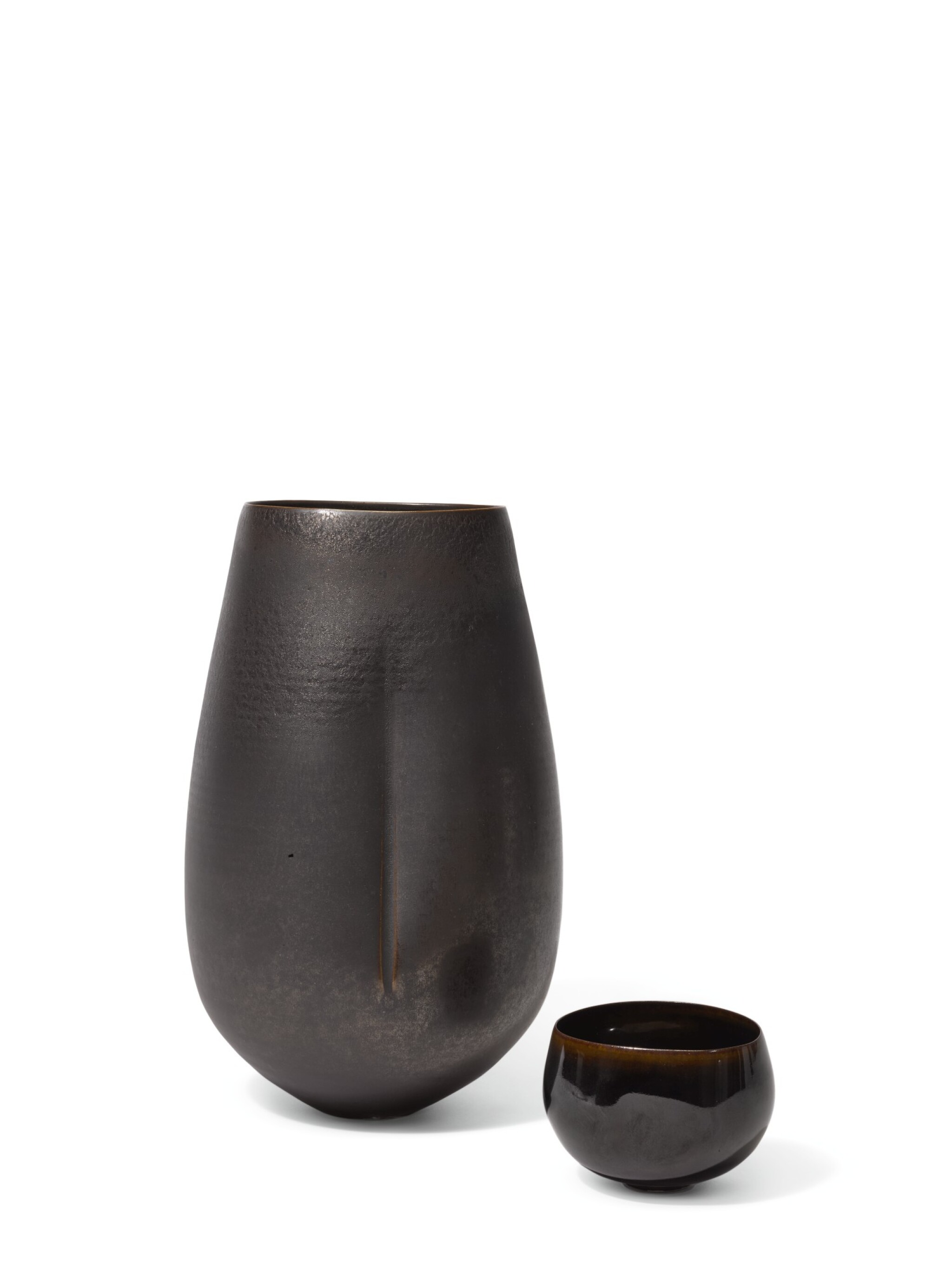 View full screen - View 1 of Lot 213. SARA FLYNN | TWO VESSELS.