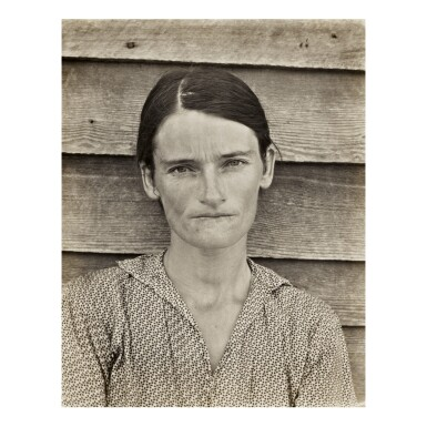 WALKER EVANS | ALLIE MAE BURROUGHS, WIFE OF COTTON SHARECROPPER, HALE COUNTY, ALABAMA