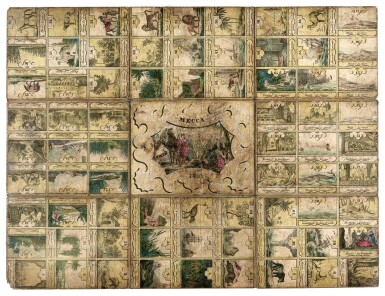 View 2. Thumbnail of Lot 172. Mecca--Boardgame, early 19th century.