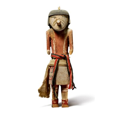View 1. Thumbnail of Lot 228. HOPI KACHINA FIGURE, ARIZONA.