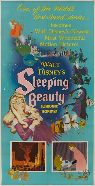 SLEEPING BEAUTY (1959) POSTER, US