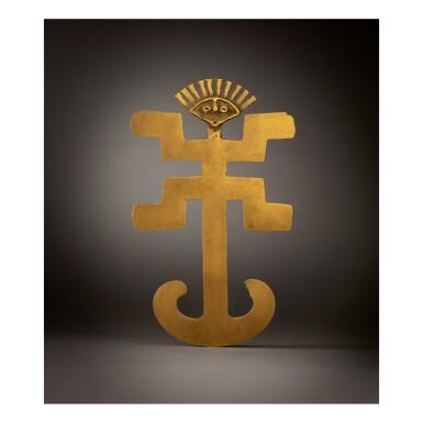 TOLIMA GOLD FIGURAL PENDANT CIRCA AD 500-1000